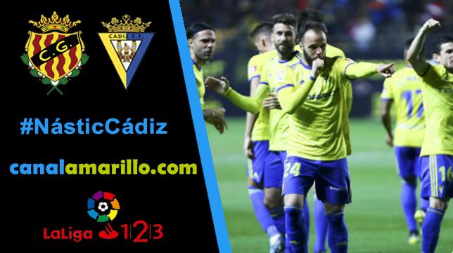 El Cádiz busca otra victoria en Tarragona