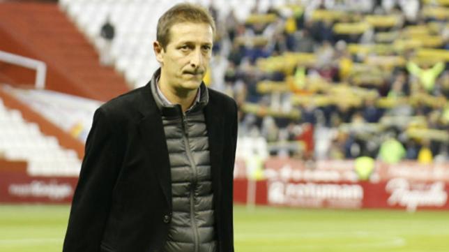 El entrenador del Albacete Luis Miguel Ramis.