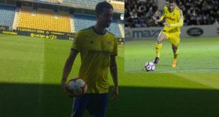Rennella y Ortuño, presente y pasado del Cádiz CF.
