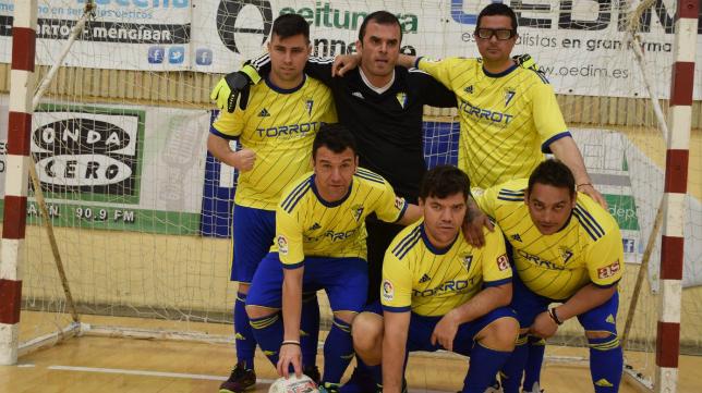 Afanas Cádiz se proclamó campeón de Andalucía de fútbol sala. Foto: Cádiz CF.
