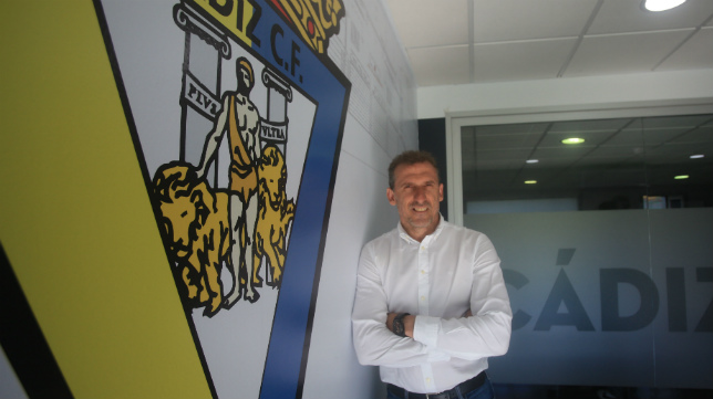 Óscar Arias, director deportivo del Cádiz CF.