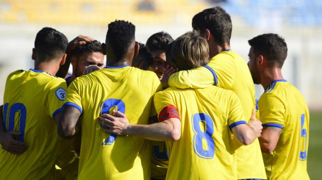El Cádiz CF B ganó una vez más por la mínima.