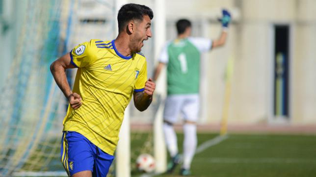 Chapela, jugador del Cádiz CF B.