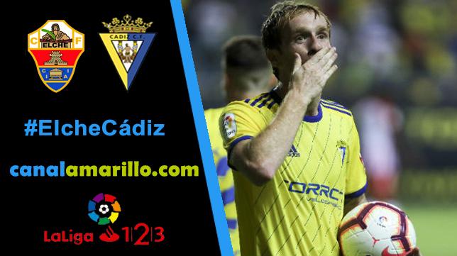 El Cádiz CF busca otra victoria en Elche