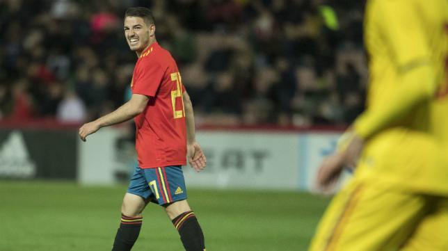 Manu Vallejo quiere proclamarse campeón de Europa con España Sub 21.