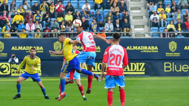 Manu Vallejo marcó ante el Lugo.