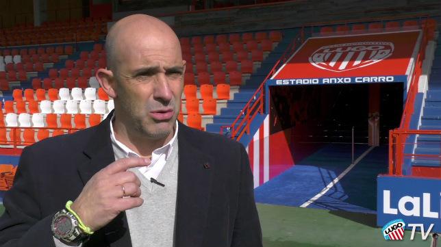 El excadista Alberto Monteagudo es el actual entrenador del Lugo.