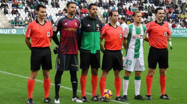 Pérez Pallas arbitró el Córdoba-Cádiz CF de la primera vuelta.