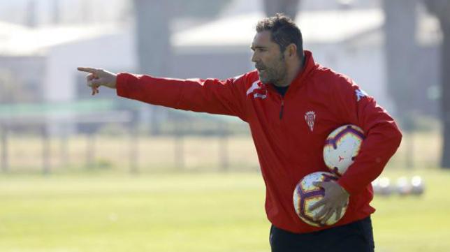 Rafa Navarro, actual entrenador del Córdoba CF. Foto: Valerio Merino.