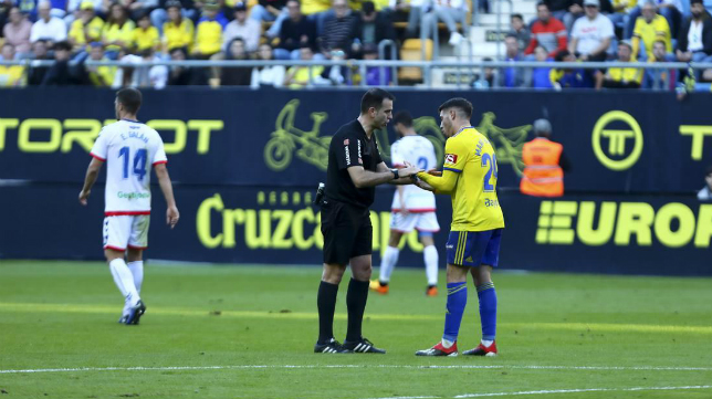 Ocón Arráiz ya arbitró el Cádiz CF-Rayo Majadahonda de la temporada pasada.