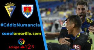 El Cádiz quiere volver a ganar en Carranza ante el Numancia
