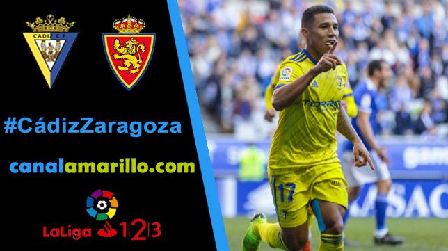El Cádiz CF busca un triunfo en casa ante el Zaragoza