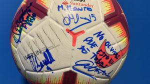 Cifuentes firmó en el balón de Machís con una clara señal.