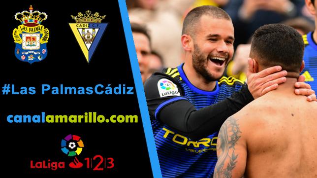 El Cádiz busca un gran triunfo en Las Palmas