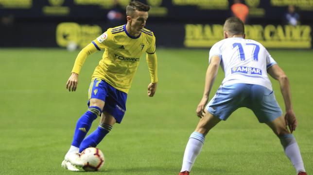 Salvi ya no es titular indiscutible en este Cádiz CF.