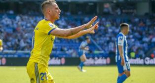 David Querol marcó el gol del empate en La Coruña