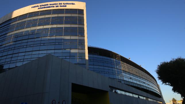 Imagen del estadio Carranza.