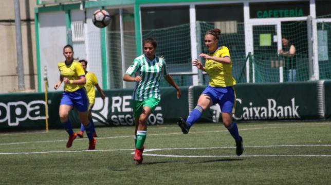 El Cádiz CF Femenino volverá a jugar ante el filial bético esta temporada. Foto: Cádiz CF.
