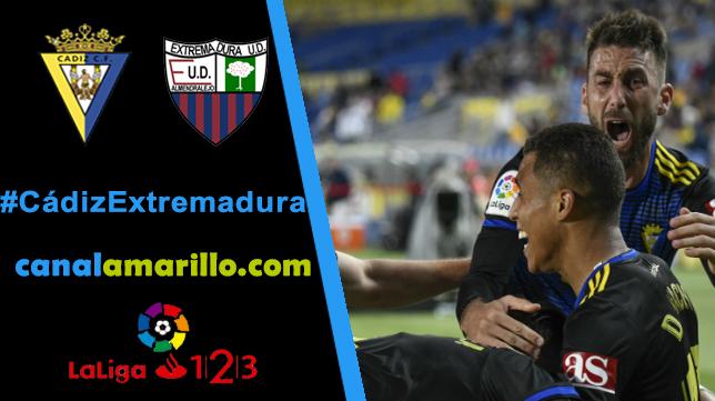 El Cádiz busca el play off ante el Extremadura en Carranza