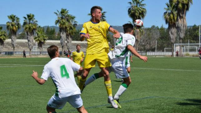 Imágenes del partido entre Córdoba B y Cádiz B: foto: Cádiz CF