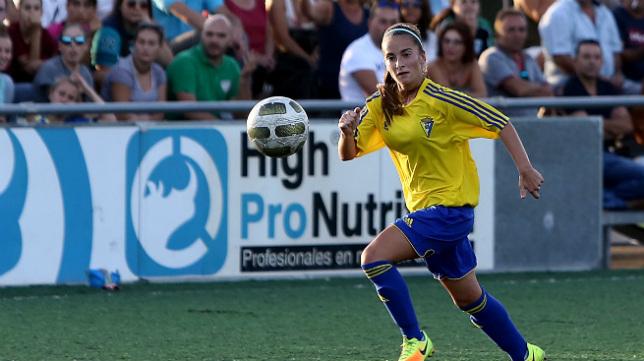 La sección femenina del Cádiz CF juega sus encuentros como local en El Rosal.