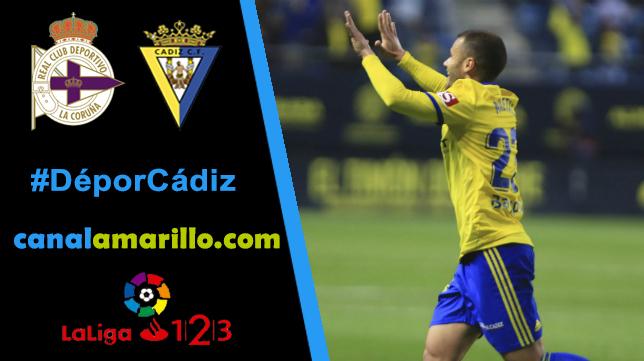 El Cádiz CF busca la campanada en Riazor