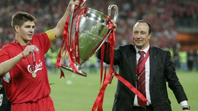 El Liverpool de Gerard y Benítez conquistó la orejona en la 2004/05, mismo año del último ascenso a Primera del Cádiz CF.
