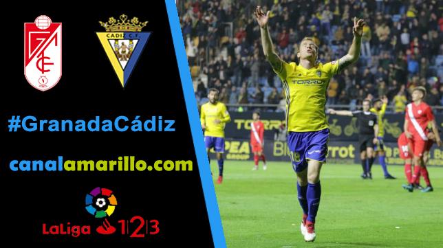 Una victoria, objetivo del Cádiz CF en Granada