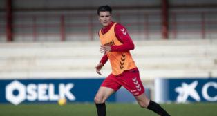 Luis Perea, centrocampista de Osasuna. Foto: CA Osasuna.