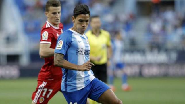 El Málaga se impuso en La Rosaleda al Zaragoza el pasado viernes.
