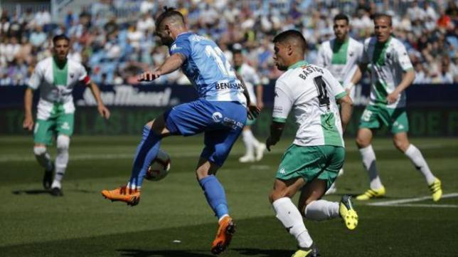 El Extremadura ganó en La Rosaleda esta temporada. Foto: SUR.