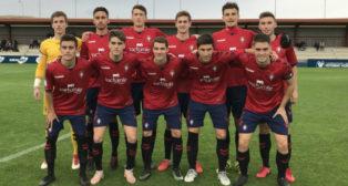 Osasuna Promesas será el rival del Cádiz CF B. Foto: CA Osasuna.