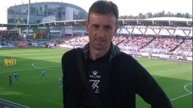 Santi Castillejo, entrenador de Osasuna Promesas.