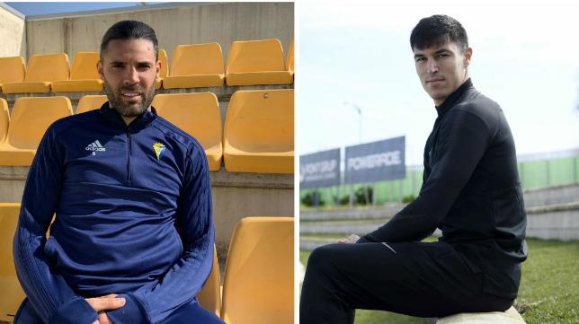 Sergio Sánchez y Diego González ya han vestido las camisetas de Cádiz y Málaga.