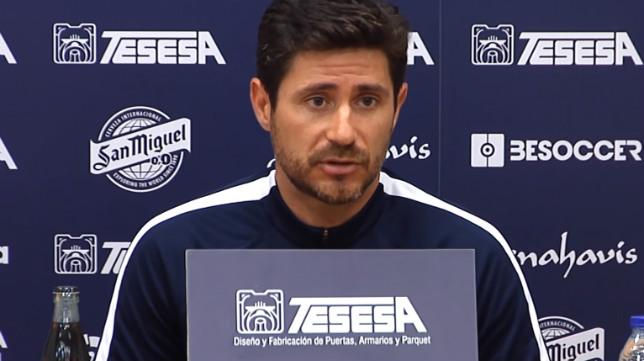 Víctor Sánchez del Amo, entrenador del Málaga.