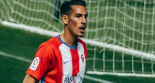 Álex Alegría ha jugado medio año cedido en el Sporting.