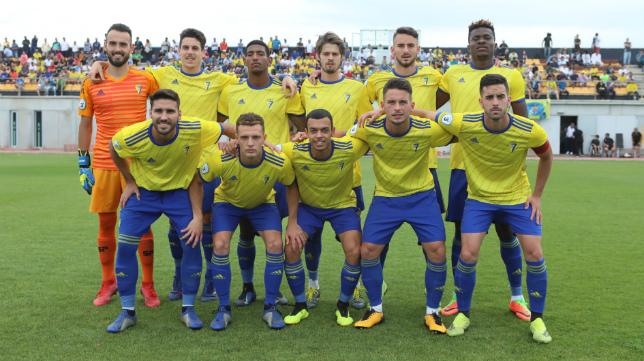 El Cádiz CF B jugará en el Grupo IV de Segunda B.
