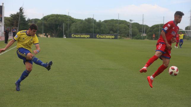 El Cádiz CF B ya está en la tercera eliminatoria.