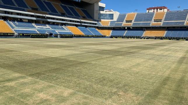 El Cádiz CF vuelve a su estadio este miércoles.