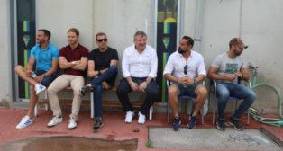Muchos rostros conocidos estuvieron en El Rosal durante el Cádiz CF B-Numancia B.