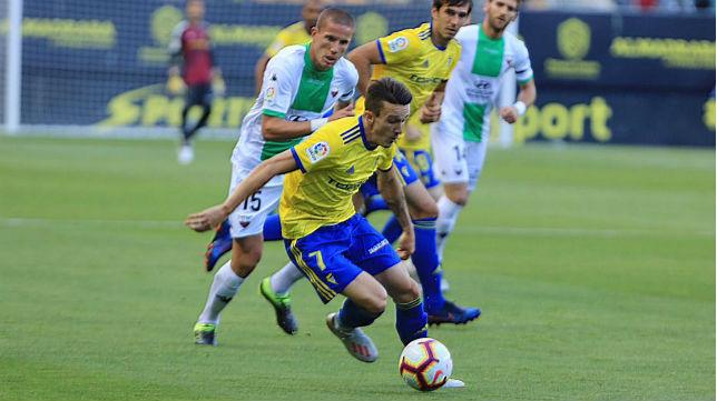 Salvi es uno de los veteranos del Cádiz CF.