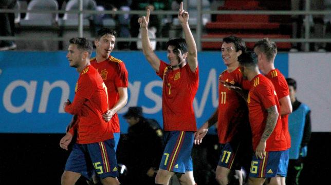 El jugador del Valencia es uno de los capitanes de la sub'21