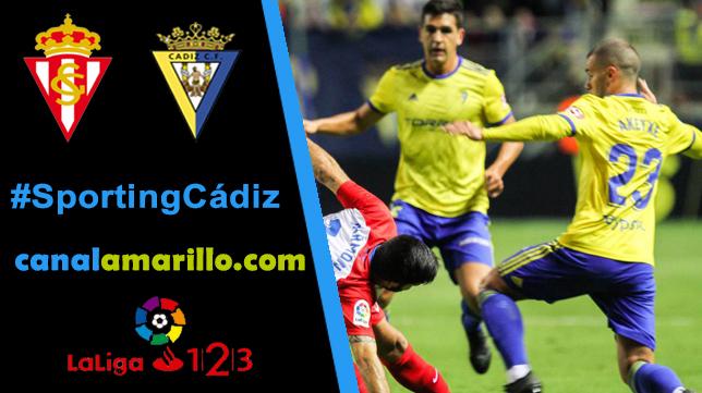 El Cádiz afronta su final ante el Sporting