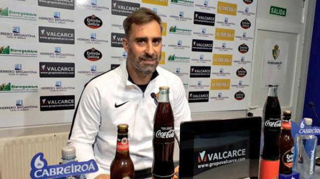 Jon Pérez Bolo, entrenador de la Ponferradina. Foto: El Correo.