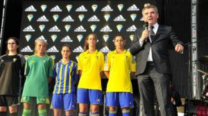 Vizcaíno dio a conocer a Adidas en la Regata de los Grandes Veleros 2016.