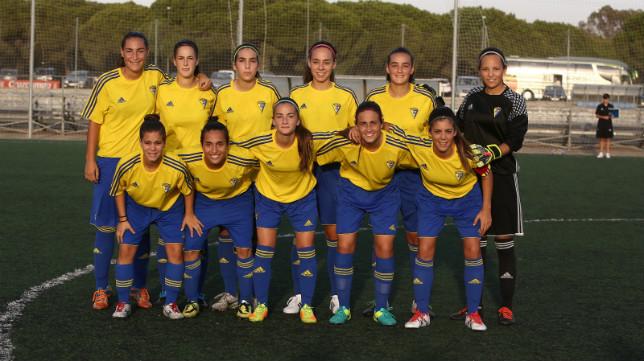 El Cádiz CF femenino, en El Rosal.