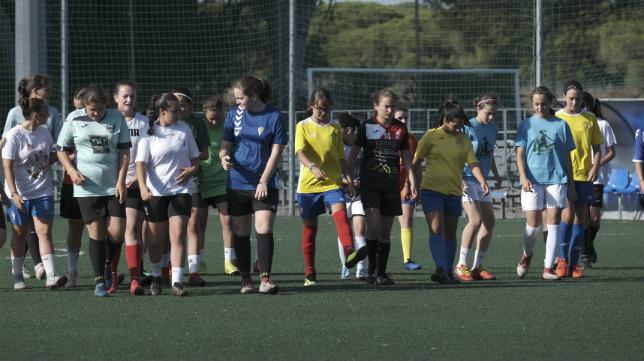 La cantera del Cádiz CF Femenino echa a andar.