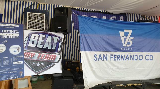 El acto se celebró en la caseta del San Fernando.