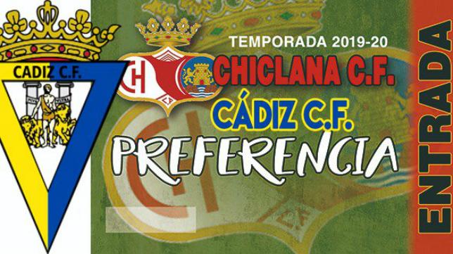 Entradas del Chiclana-Cádiz CF. Foto: Chiclana CF.