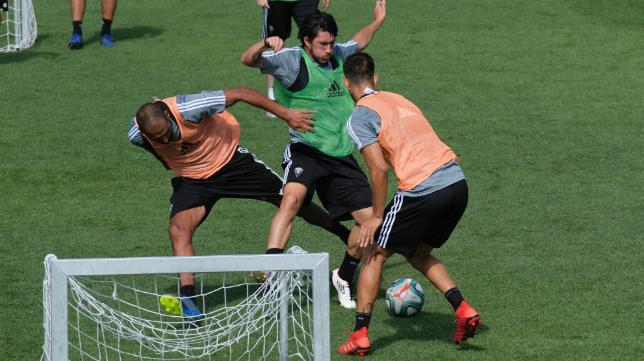 El Cádiz CF sigue con su puesta a punto durante la pretemporada.